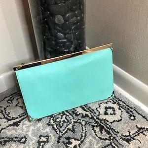 Handbags - Mint clutch